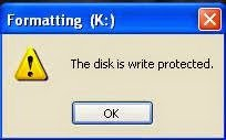 Write protect usb deviced